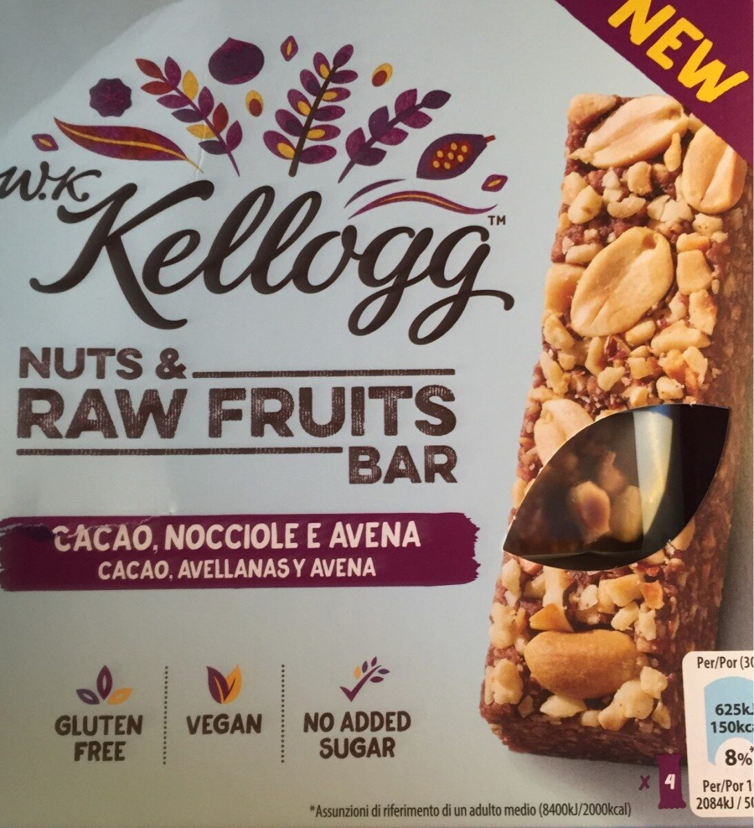 Nuts & raw fruits bar - Product - fr