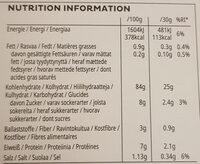 Kellogg's Corn Flakes - Informazioni nutrizionali - de