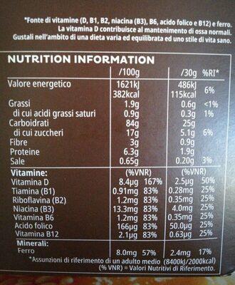 Coco pops - Voedingswaarden - it