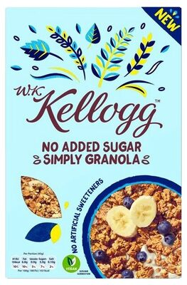 No added sugar simply granola - Product