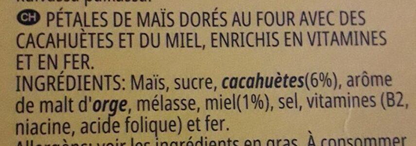 Crunchy Nut - Ingrédients - fr