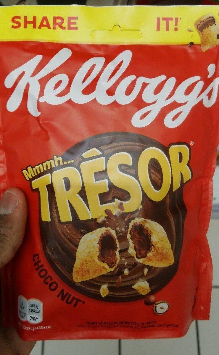 Céréales Trésor Kellogg's Chocolat Noisettes - Produit - fr