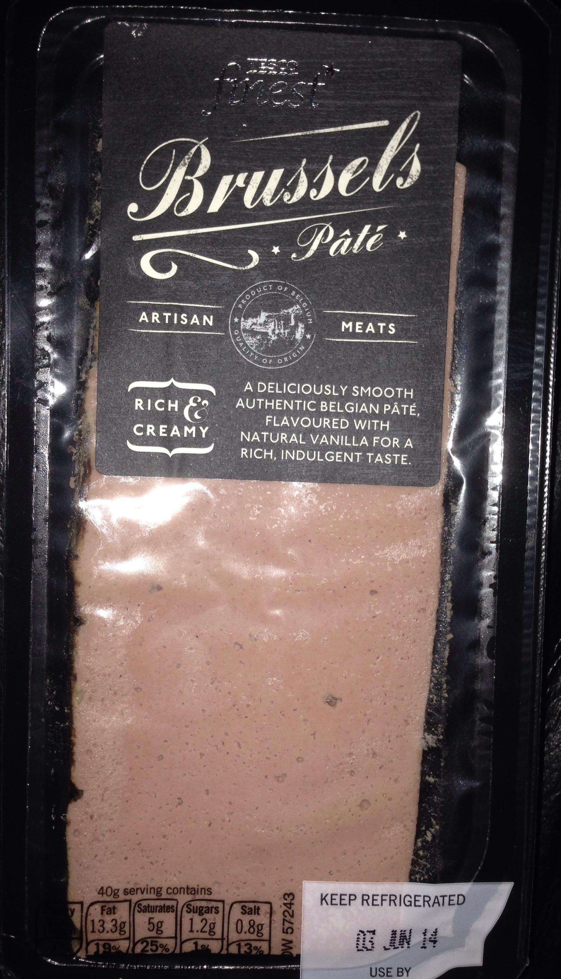 Brussels pâté - Product