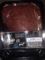 British rump steak - Product