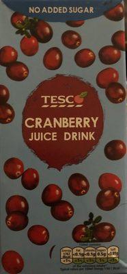 Cranberry Juice Drink - Product - fr