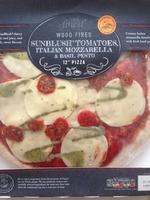 wood fired sunblush tomatoes, italian mozzarella & basil pesto 12'' pizza - Produit