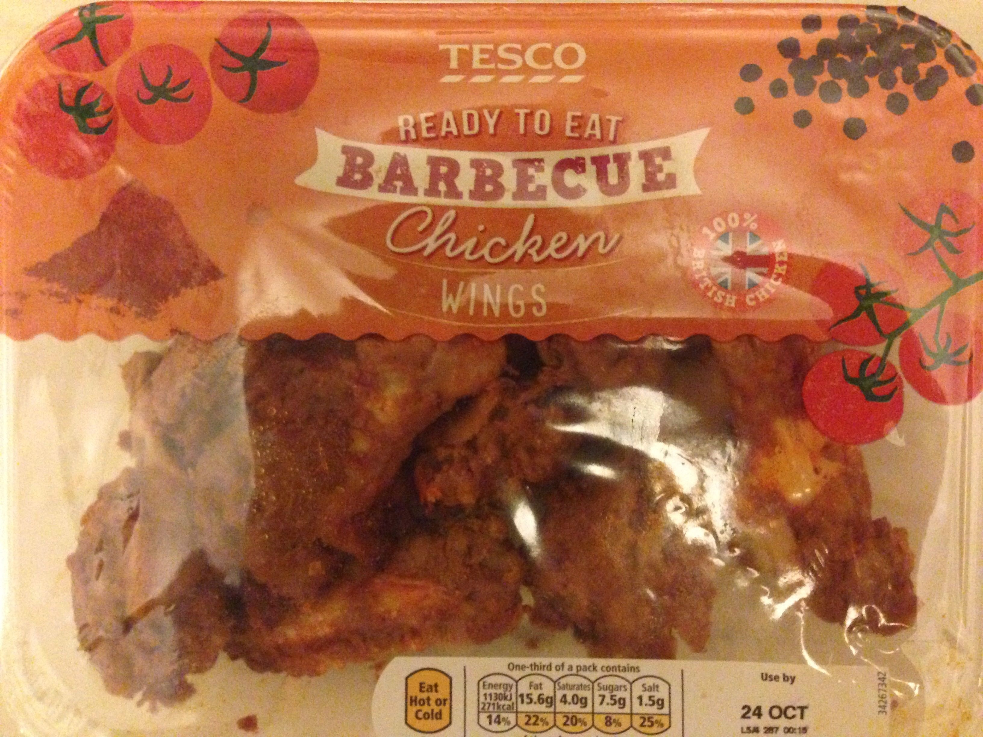 Barbecue chicken wings - Produit