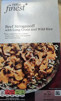 Beef Stroganoff with Long Grain and Wild Rice - Product - en