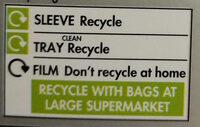 6 Lincolnshire Sausages - Instruction de recyclage et/ou informations d'emballage - en