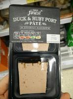 Duck & Ruby Port Pâté - Product