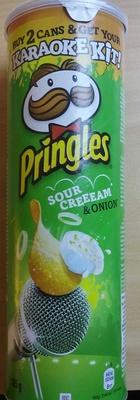 Pringles sour cream & onion - Produit - fr