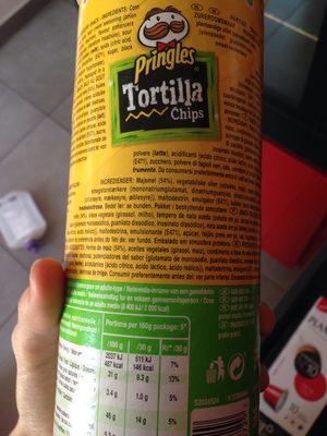 Tortilla sour cream - Ingrédients - en
