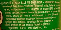 Snack salé au goût pizza - Ingredients - fr