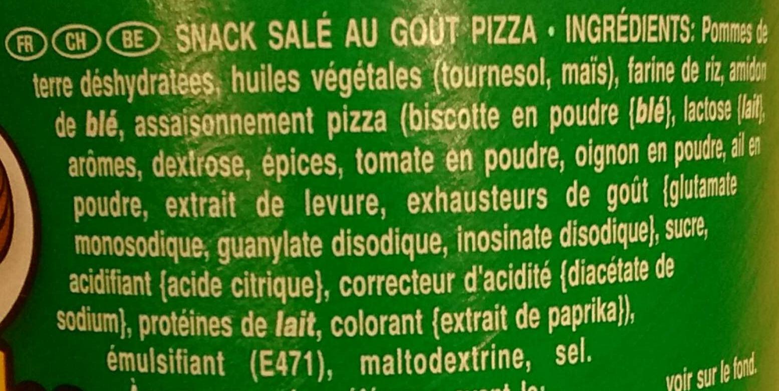 produit  pizza flavour pringles