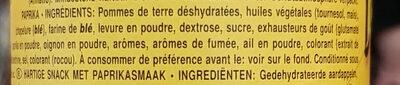 Classic paprika - Ingrediënten - fr