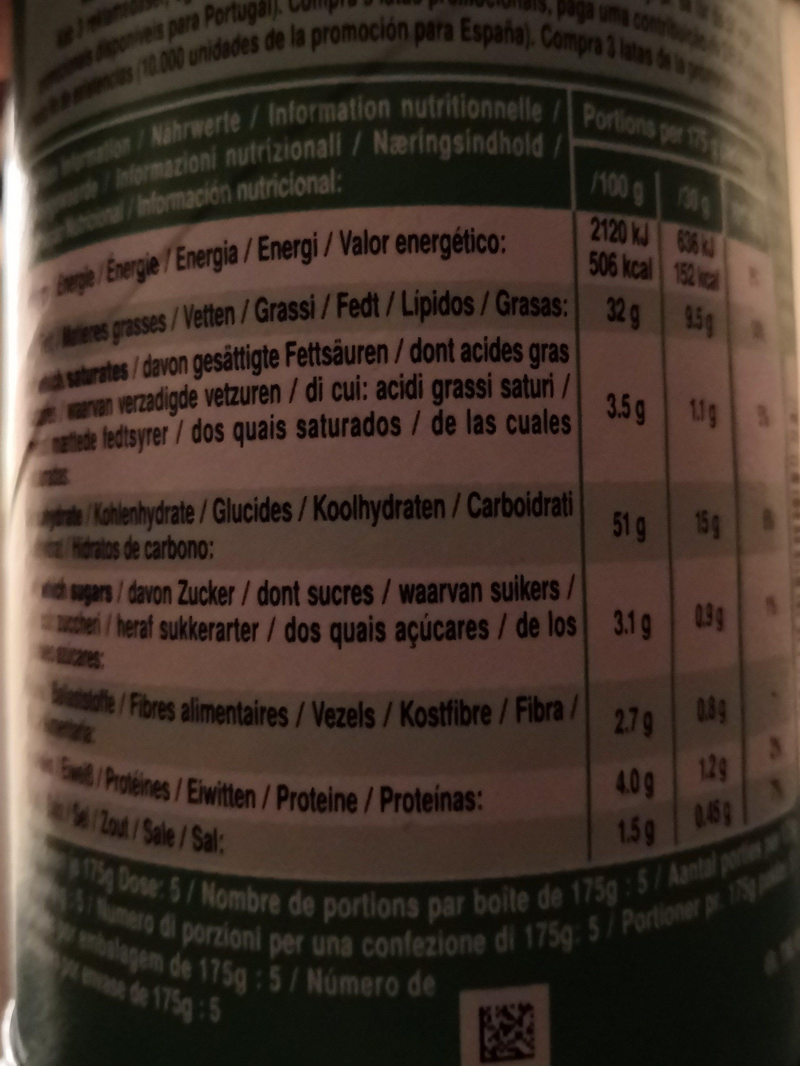 Sour Cream & Onion - Informations nutritionnelles - fr