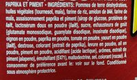 Hot Paprika Chilli - Ingrédients - fr