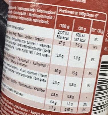 Hot Paprika Chilli - Informations nutritionnelles - de