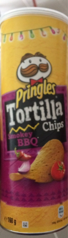 Pringles Tortilla Chips Smokey BBQ - Produit - fr