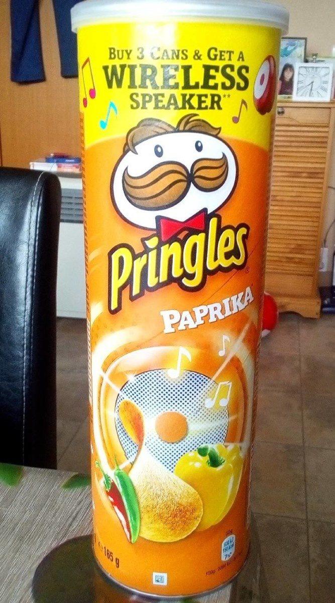 Pringles Paprika - Produit