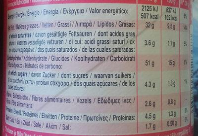 Ham & Cheese - Voedingswaarden - de