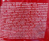 Pringles Original - Ingredients - en