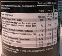 Hot & Spicy - Voedingswaarden - fr