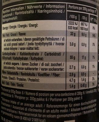 Lucozade 6 Pack Wrapper - Informazioni nutrizionali - it