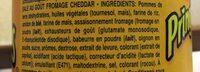 Pringles Food Trucks Cheese Fries - Ingredientes