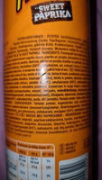 Pringles sweet paprika - Zutaten - de