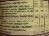Rice Fusion Japanese BBQ Teriyaki - Nutrition facts