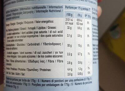 Salt and pepper - Informazioni nutrizionali - fr