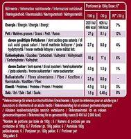 Rice fusion Malaysian Red Curry - Informazioni nutrizionali - de