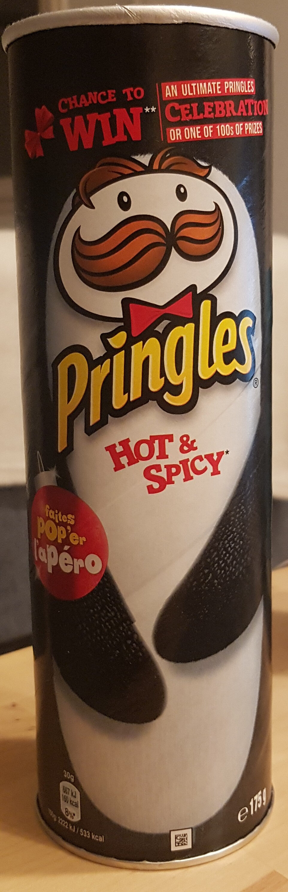 Pringles Hot & Spicy - Produit - fr