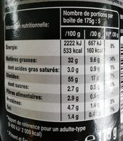 Pringles Hot & Spicy - Informations nutritionnelles - fr