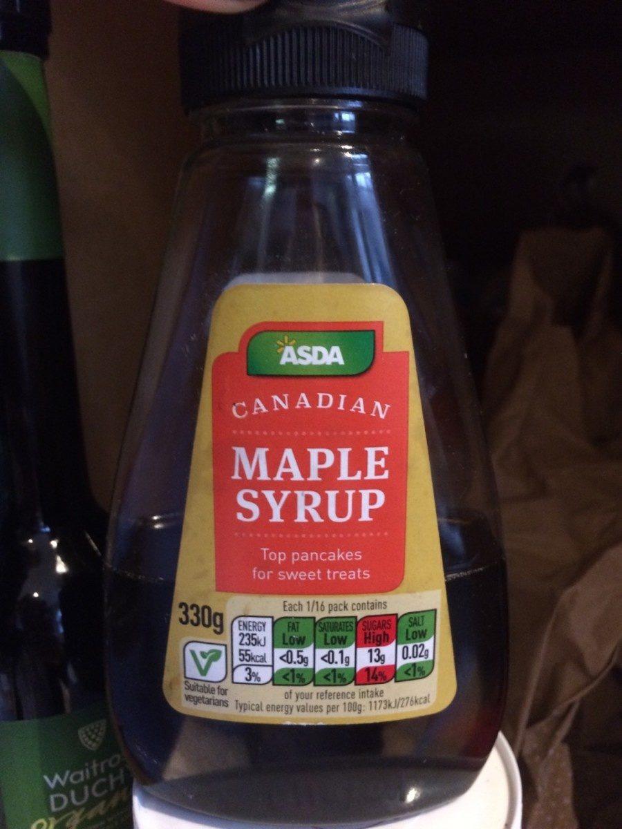 Maple syrup - Produit - fr