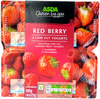 4 Red Berry low fat yogurts - Product