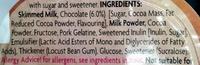40% Less Fat Chocolate Mousse - Ingredients - en