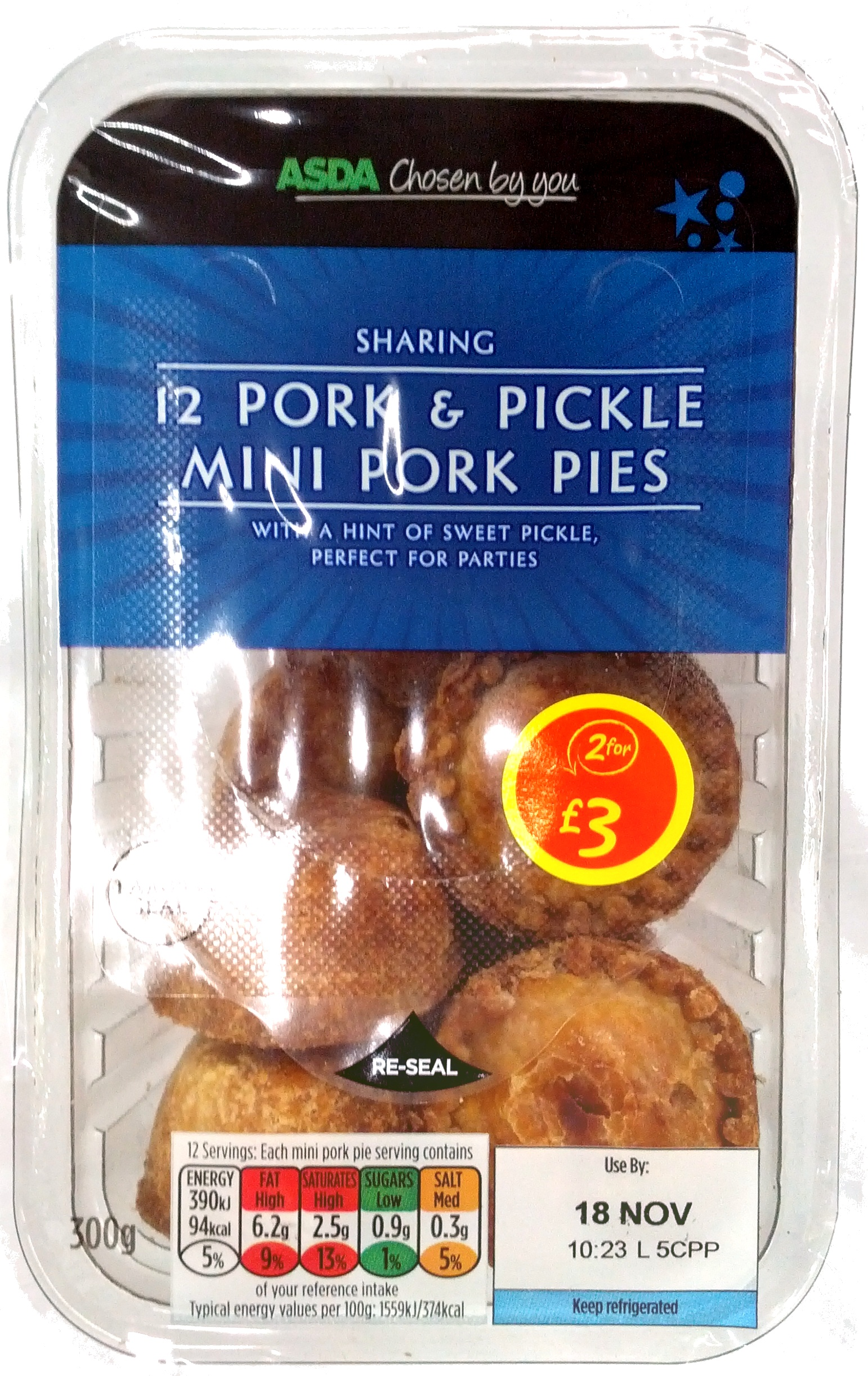 12 Pork & Pickle Mini Pork Pies - Product - en