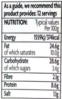 12 Pork & Pickle Mini Pork Pies - Nutrition facts - en
