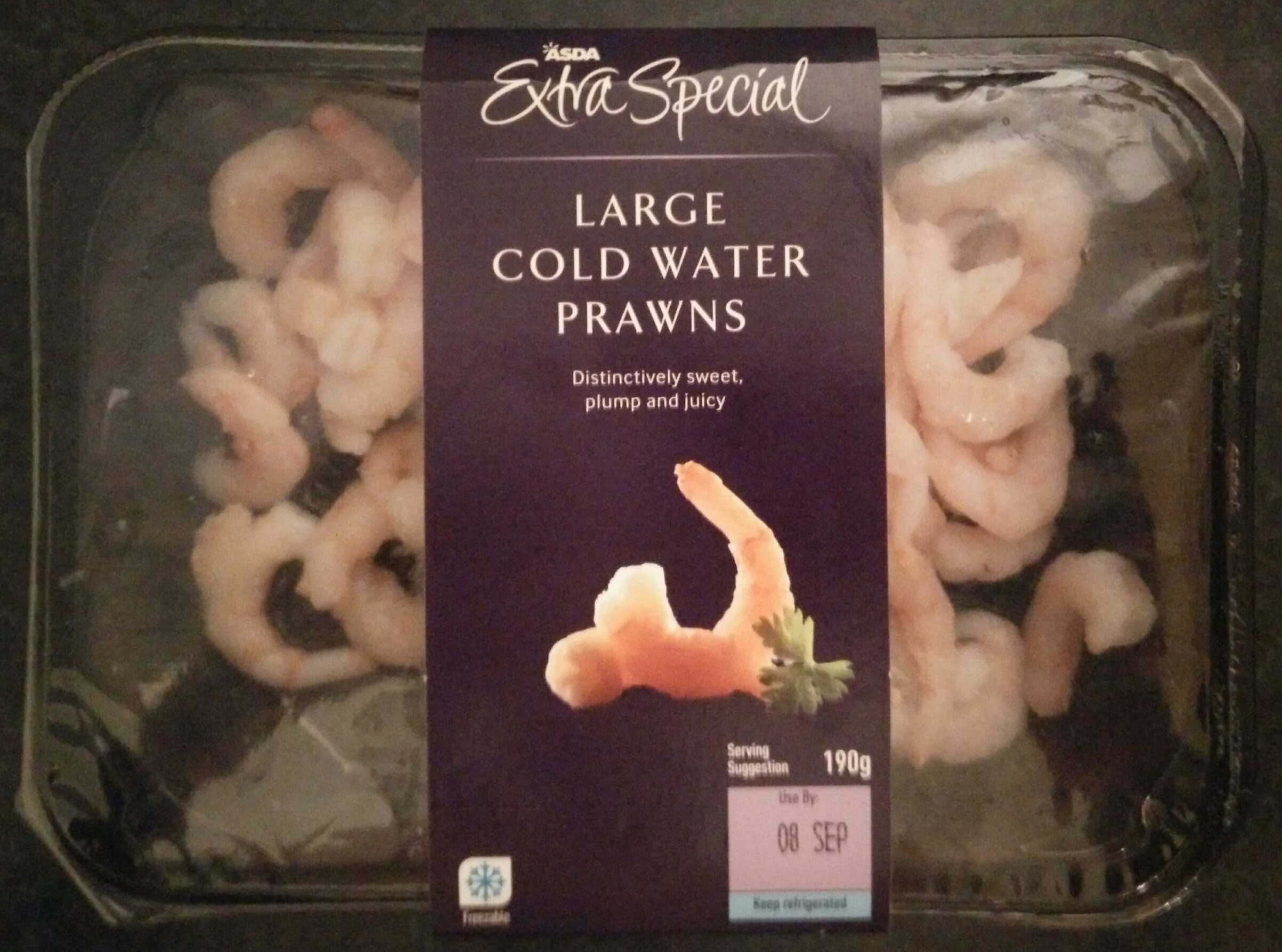 Large cold water prawn - Product
