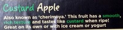 Custard Apple - Ingredients