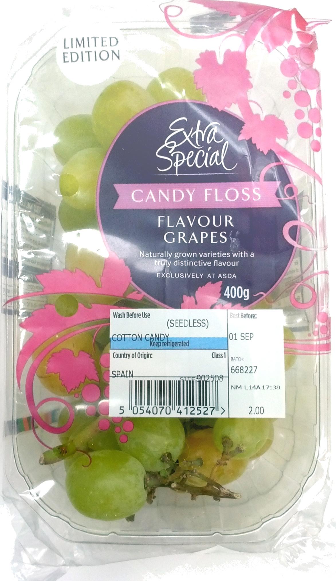 Candy Floss Flavour Grapes - Produit - en