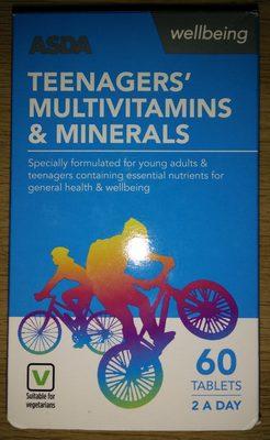 Teenagers' Multivitamins & Minerals - Produit