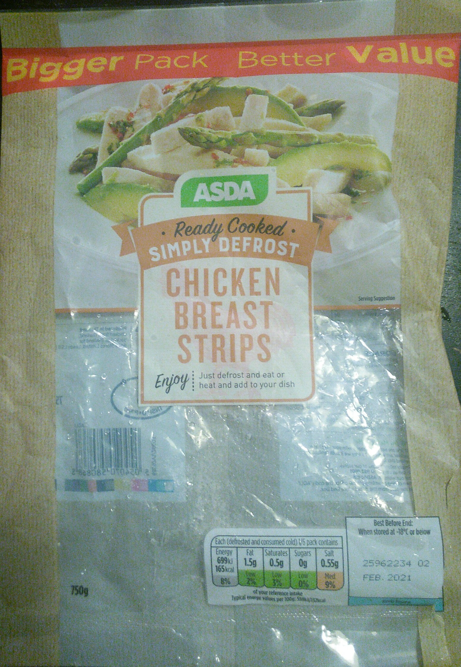 Chicken Breast Strips - Product
