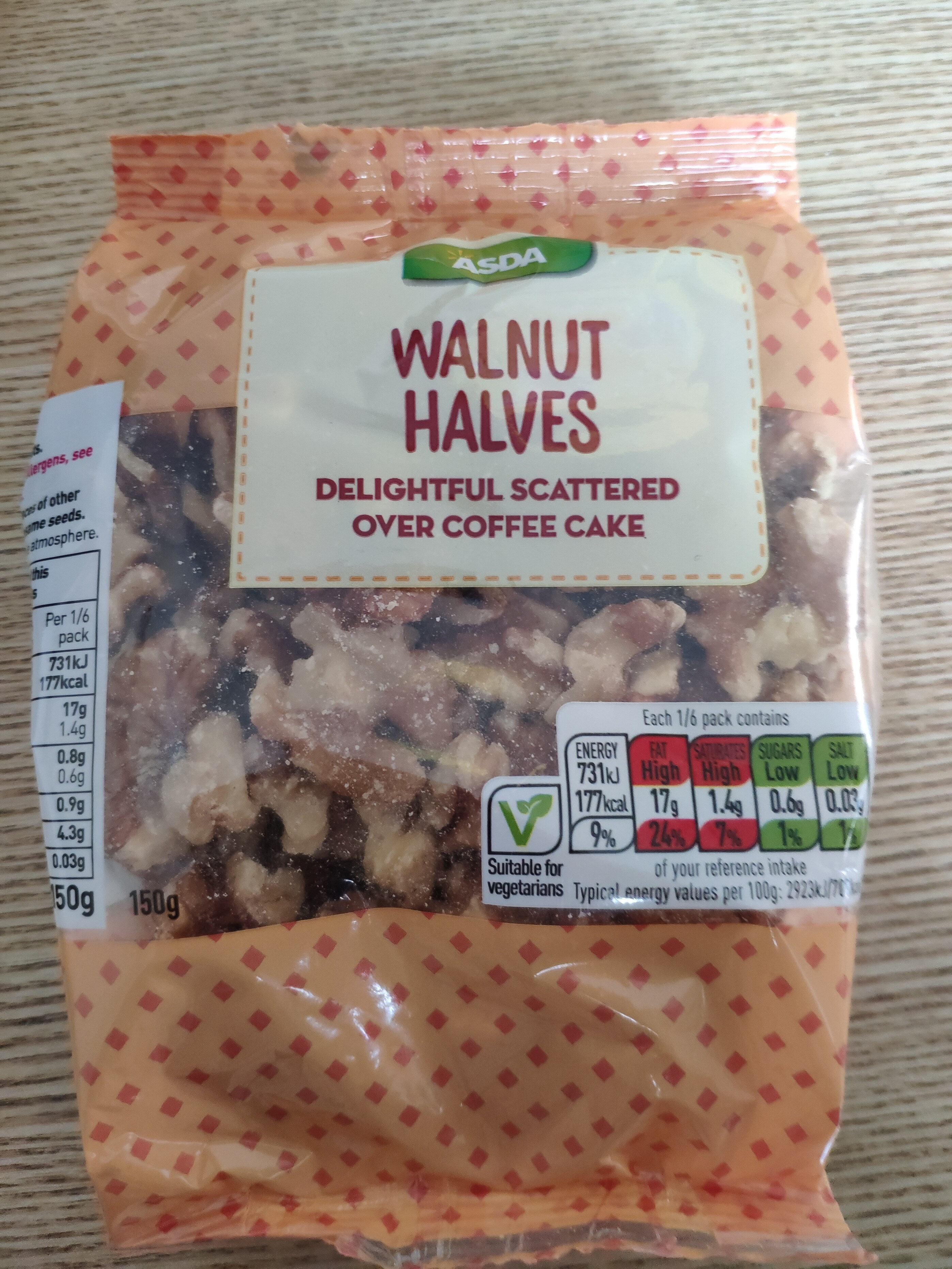 Walnut Halves - Produit - en