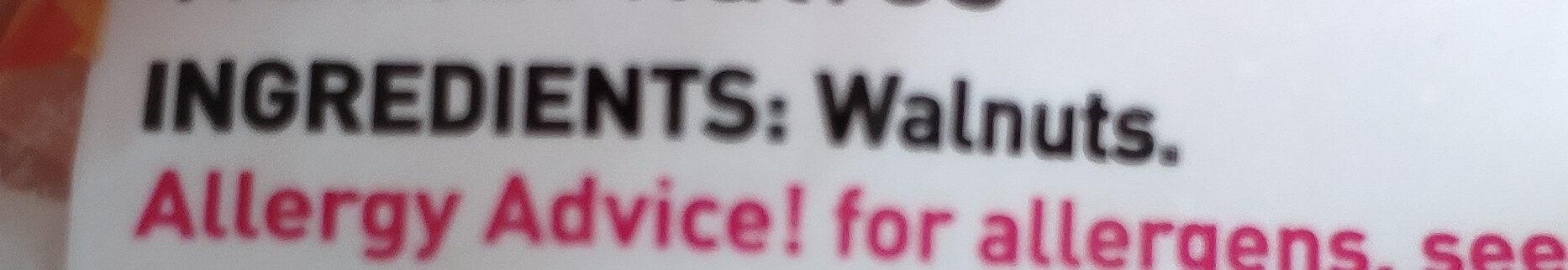 Walnut Halves - Ingrédients - en
