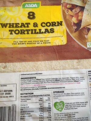 Wheat & corn tortillas - Product - en