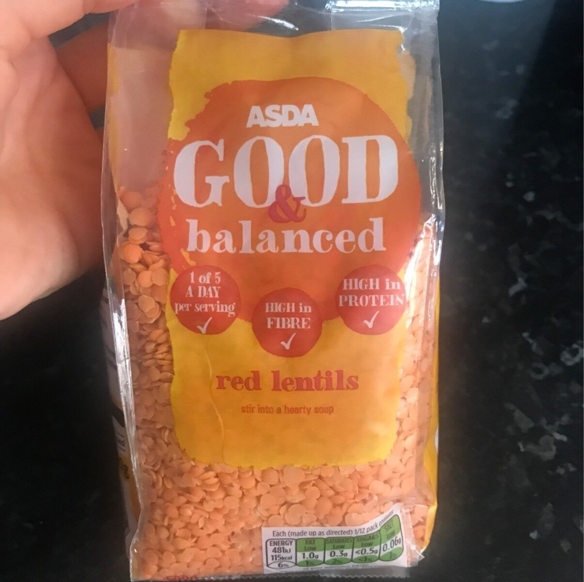 Red Lentils - Product