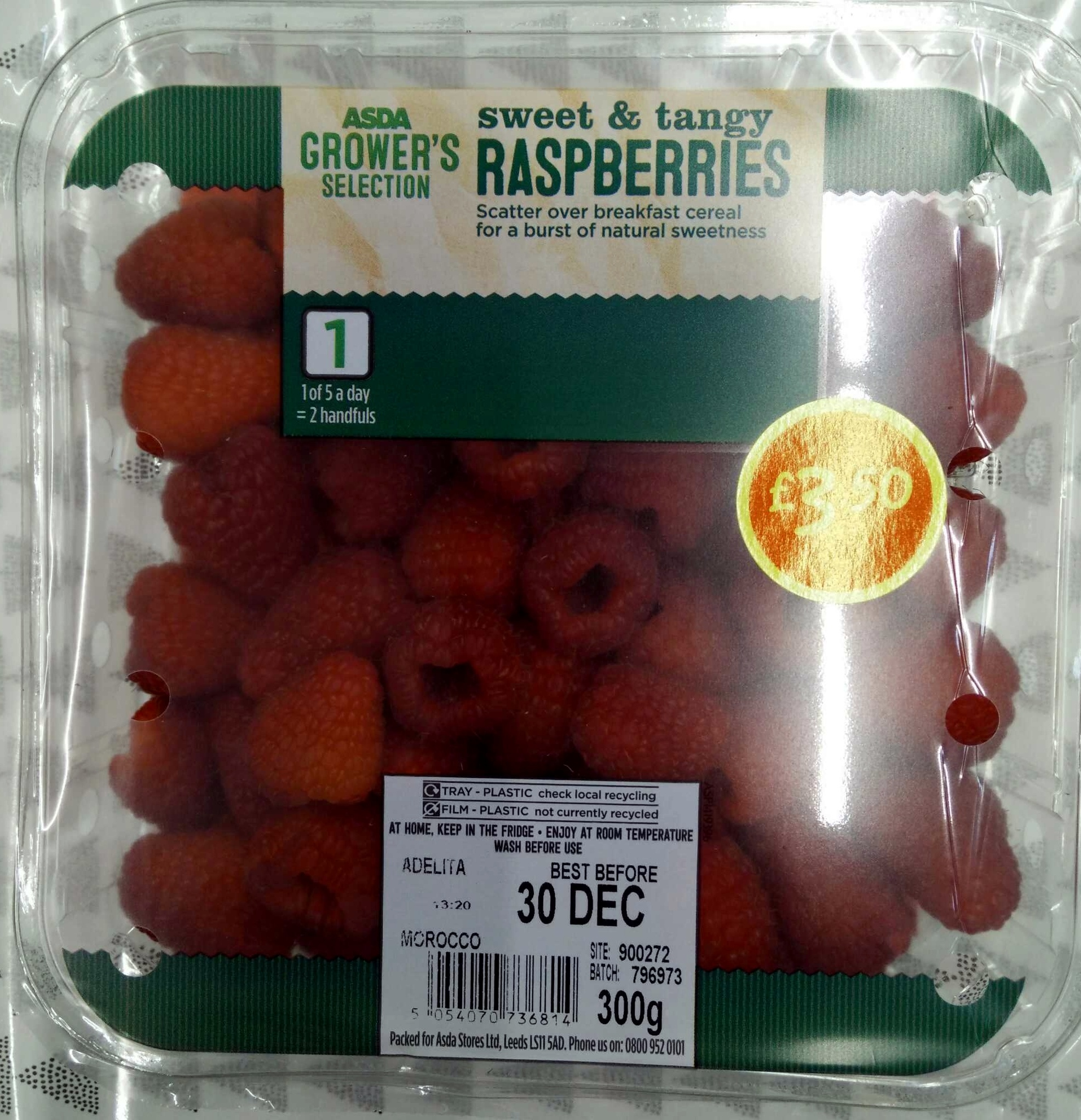 Raspberries - Produit - en